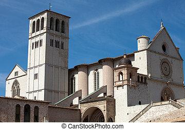 francis, basílica, assisi, italia, santo