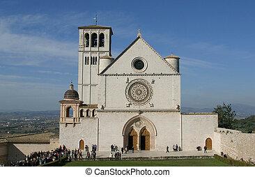 francis, basílica, santo, assisi