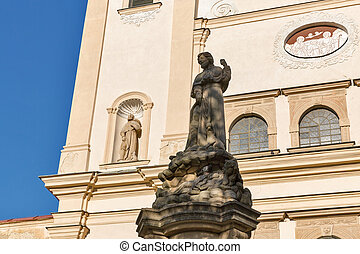franciscan, 修道院, slovakia., presov, 教会