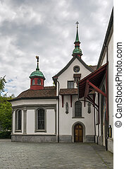 franciscan, 教会, ルツェルン