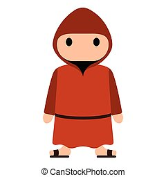 franciscan, 隔離された, 修道士