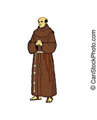 franciscan, friar.