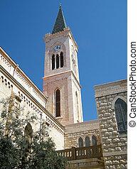 franciscan, jaffa, 2011, 教会