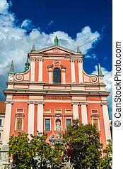 franciscan, ljubljana, 教会