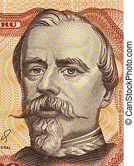 Francisco Bolognesi on 5000 Soles de Oro 1985 Banknote from ...