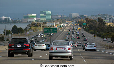 francisco, californie, san, trafic
