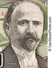 Francisco Madero on 500 Pesos 1984 Banknote from Mexico....