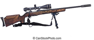 franco-atirador, rifle