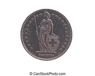 franco svizzero, (chf), moneta