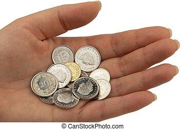 franco svizzero, monete