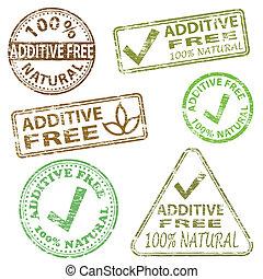 francobolli, additivo, libero
