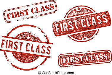 francobolli, classe, primo