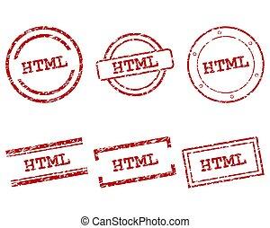 francobolli, html