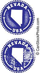 francobolli, nevada, stati uniti