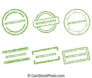 francobolli, nutriente