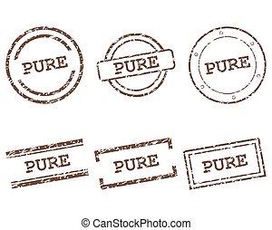 francobolli, puro