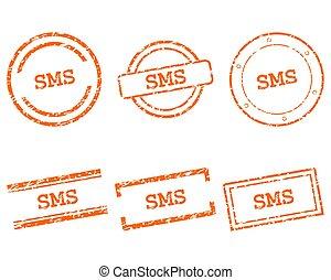 francobolli, sms