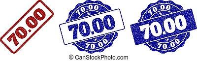 francobollo, 70.00, grunge, sigilli