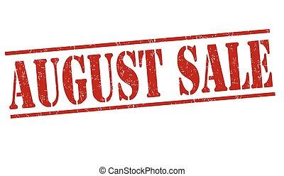 francobollo, agosto, vendita
