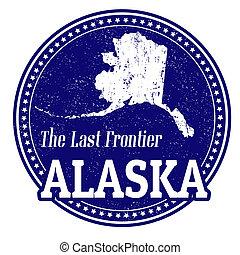 francobollo, alaska