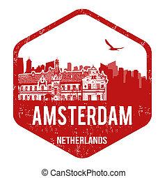 francobollo, amsterdam