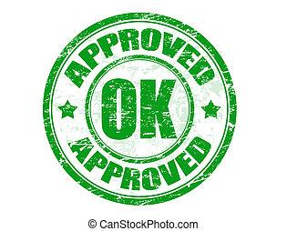 francobollo, approvato