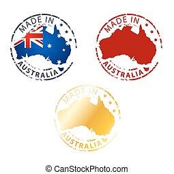 francobollo, australia, fatto