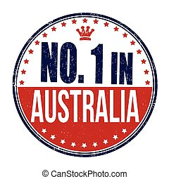 francobollo, australia, numero