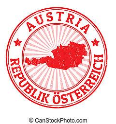 francobollo, austria