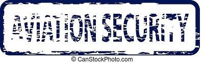 francobollo, aviazione, sicurezza