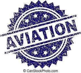 francobollo, aviazione, textured, grunge, sigillo