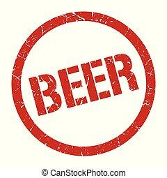 francobollo, birra