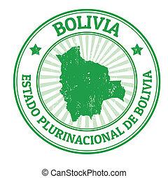 francobollo, bolivia