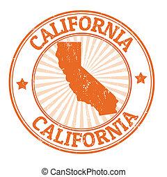 francobollo, california