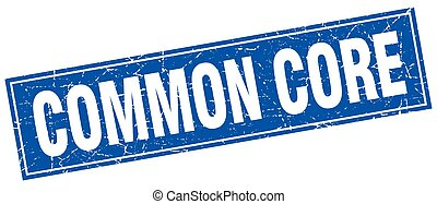 francobollo, centro, quadrato, comune