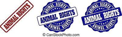 francobollo, diritti, grunge, animale, sigilli