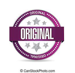 francobollo, disegno, originale, illustrazione, sigillo