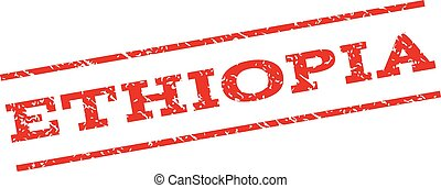 francobollo, etiopia, watermark