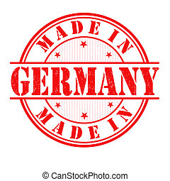 francobollo, fatto, germania