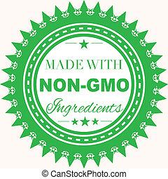 francobollo, fatto, non-gmo, ingredienti