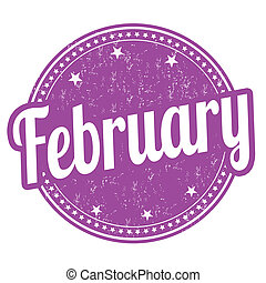 francobollo, febbraio