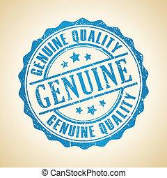 francobollo, genuino, qualità
