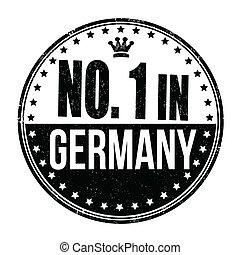 francobollo, germania, numero