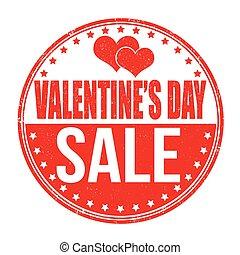 francobollo, giorno valentines, vendita