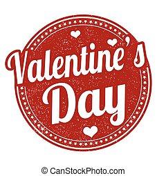 francobollo, giorno valentines