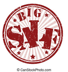 francobollo, grande, vendita