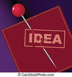 francobollo, idee