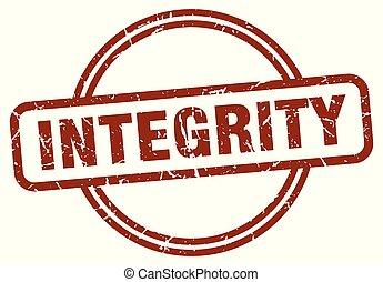francobollo, integrità