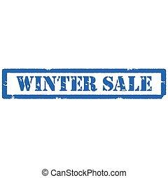 francobollo, inverno, vendita