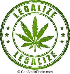 francobollo, legalize